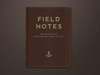 Leather Bound Field Notes