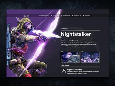 Nightstalker video game the taken king motion website destiny