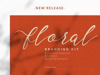 Floral Branding Kit Template