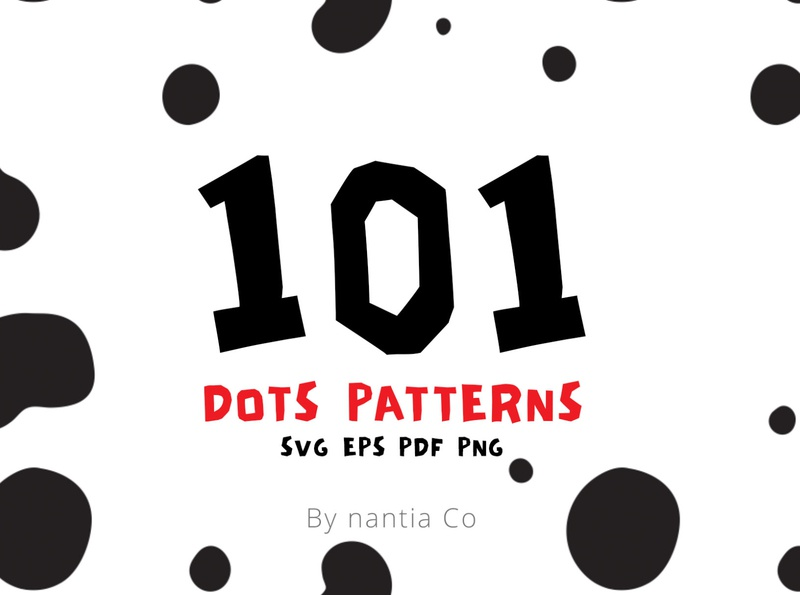 101 Dots Seamless Patterns vector patterns seamless patterns surface patterns
