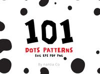 101 Dots Seamless Patterns