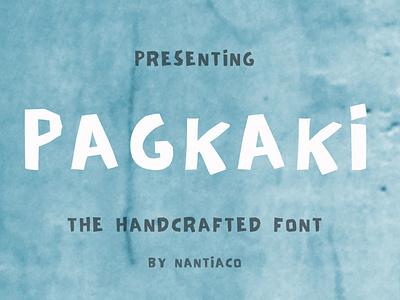 Pagkaki Font  Greek font brush font greek brushed font typeface nantiaco fonts handwritten font greek font