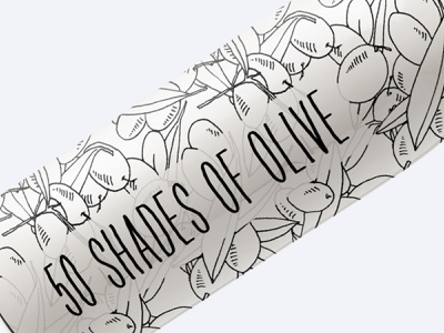 50 Shades Of Olive Hand Drawn Illustrations Mega Pack olive cliparts olive oil packaging olive illustration illustration