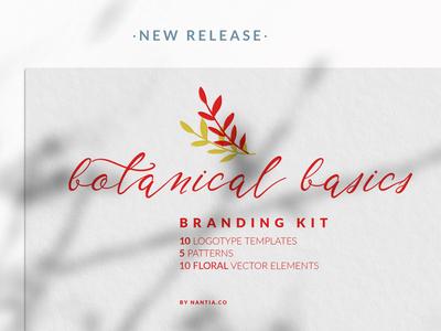 Botanical Basics Branding Kit