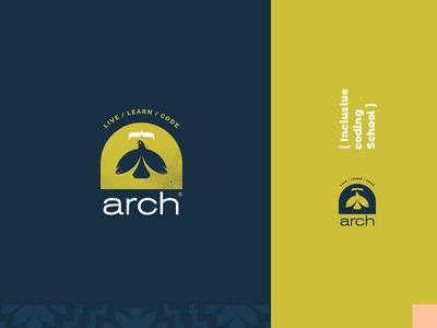 Arch. ngo print typography logotype vector logo branding graphic design art direction identity