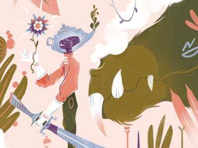Botany. drawing illustration