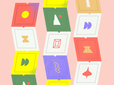 👁🗨 Feeds. art direction vector graphic design illustration