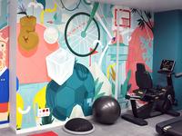 Sport Mural.