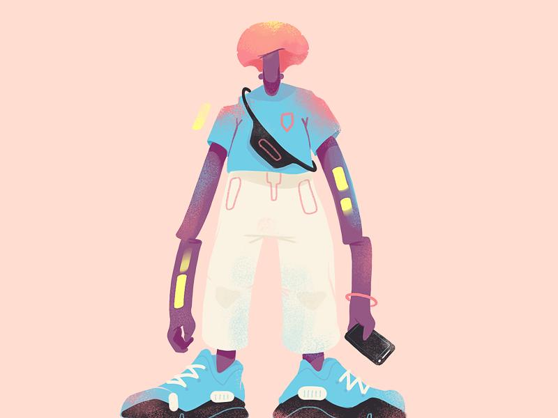 Shapes Of Today character digital illustration illustration