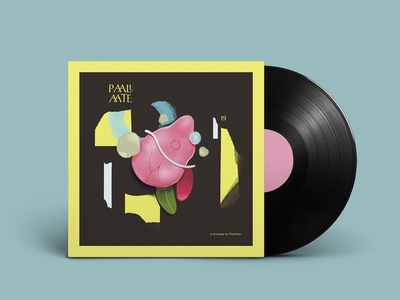 Paalaate Mixtape. cover artwork graphic-design graphic design music art direction illustration