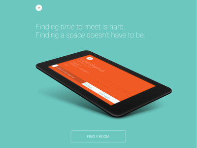 Introducing Pivvot app envoy hackathon tablet nexus android meetings