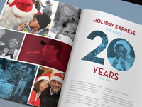 "Holiday Express ""Seasons"" Yearbook - Spread"