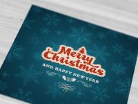 Christmas card dribbble