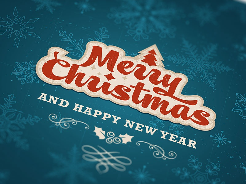 Christmas card dribbble 2x