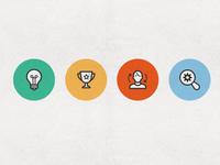 Seo & Marketing Icon Set