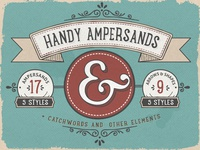 Handy Ampersands Font