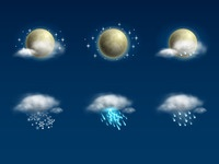 Weather Icon Set | Night