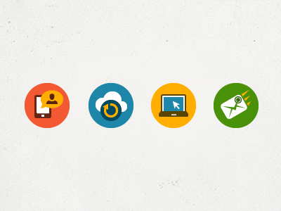 Communications Icon Set communications icon set mobile phone laptop email cloud