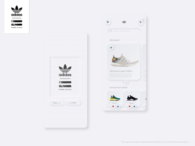 Adidas Originals App Redesign.