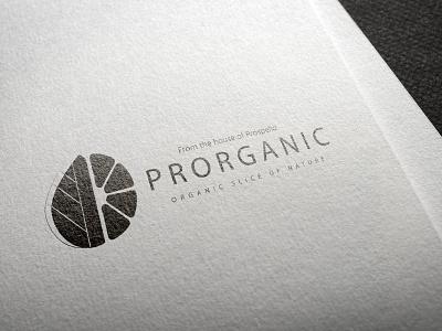Proganic Logo Design graphic design art icon minimal flat vector illustration design branding logo