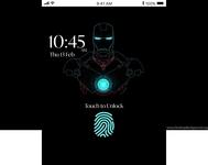 Mobile App Lock Screen