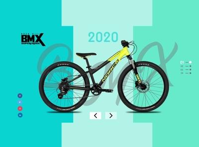 BMX Cycle Landing Page