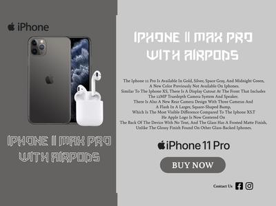 iPhone landing page Design
