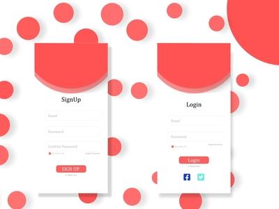 App Ui Login Screen