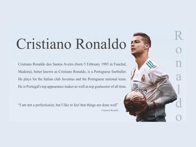 Design For Ronaldo fans