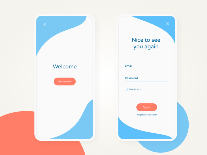 UI Daily #01 - Sign up screen ui signup ui daily