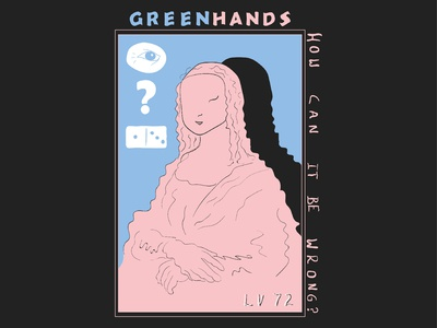 Green Hands T Shirt Design