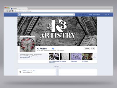K3 Artistry Facebook Brand Page