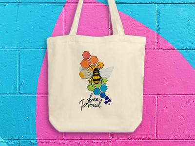 Bee Proud Totebag