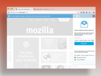 Firefox Hello UI with Sidebar
