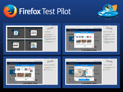 Revised Tours for Firefox Test Pilot slides tours browsers ui firefox ux mozilla