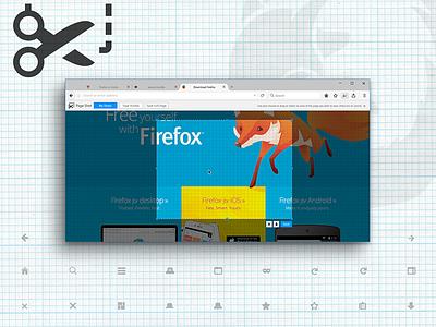 Page Shot Design Refresh add-on plugin tool screenshot windows browsers experiments ui firefox ux mozilla