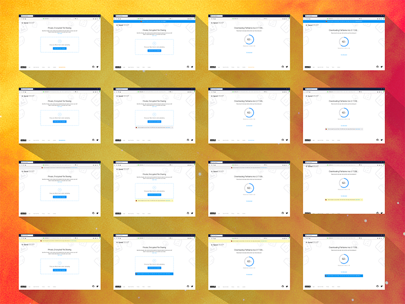 Firefox Send Referral Experiments bar content panels browsers firefox promotions promote share experiments mozilla ux ui