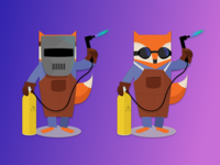 Welder Foxes