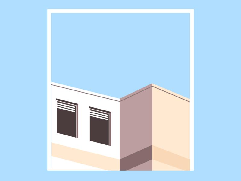 Minimal Architecture in Figma design illustraion architecture figmadesign graphic design figma