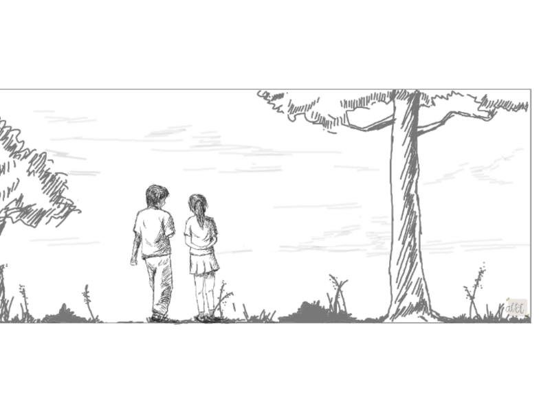 Bridge to Terebithia illustration