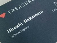 Treasure Data Japan - Business Cards