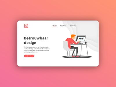 Webdesign Portfolio Landing Page