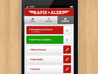 Rapid Alert iPhone Detail
