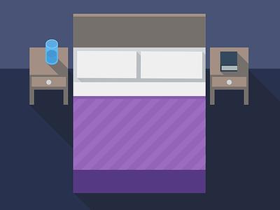 Bedroom bedroom flat a