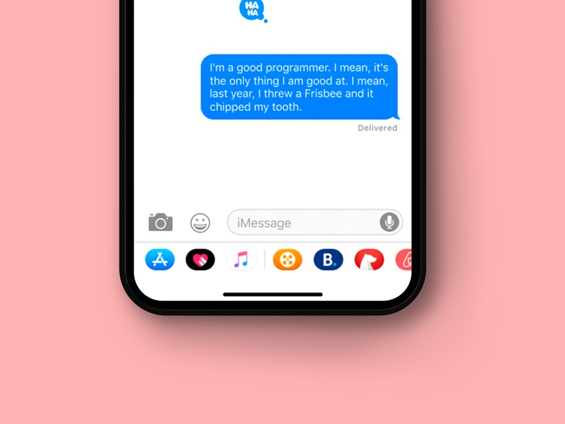 Daily UI Challenge - Day 13 imessages ux app uidesign ui uxdesign design dailyui