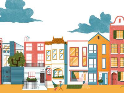 Speculative Airbnb Illustration