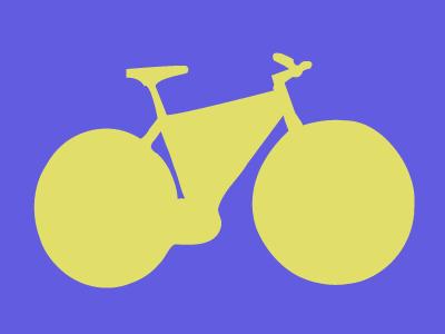 Pen Bike illustrator pen tool pen cycle bicycle bike green purple