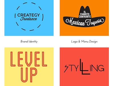 Portfolio Redesign Buttons portfolio redesign squarespace logo branding