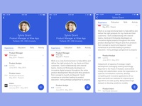 Daily UI 006 - Profile