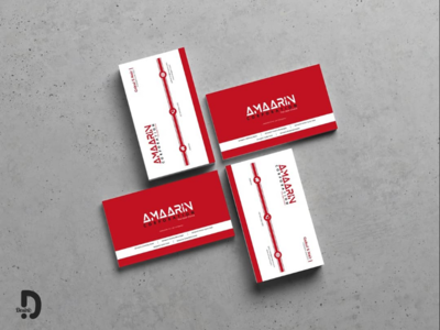 Amaarin - business card designs